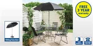 6 garden patio furniture set 163 49 99 at aldi from 2nd may hotukdeals
