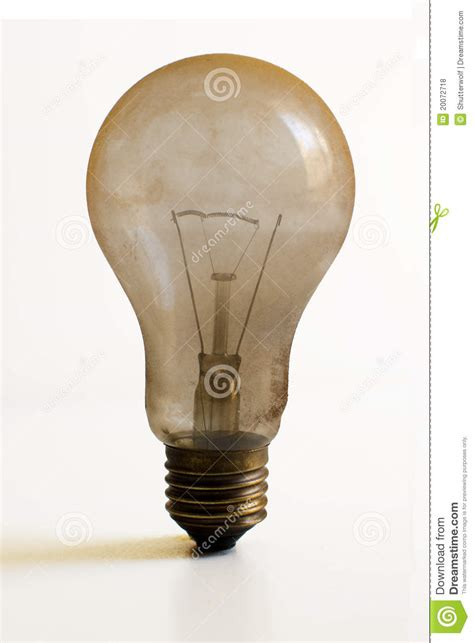 dusty burned out light bulb stock photo image 20072718
