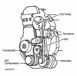 1994 Cadillac Deville Serpentine Belt Routing And Timing