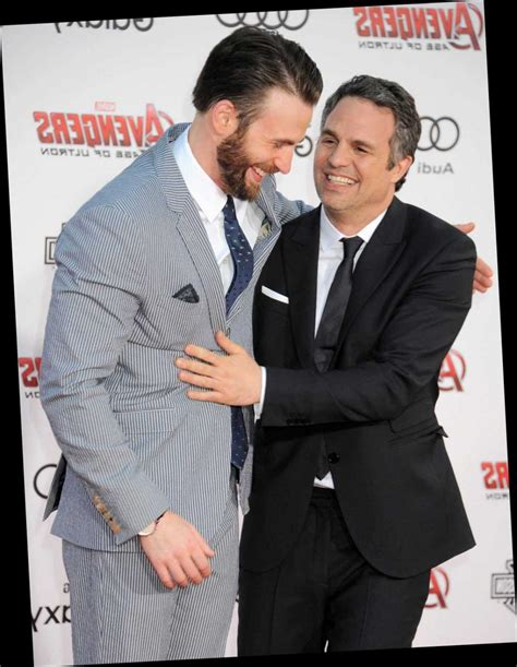Mark Ruffalo Comes To The Rescue After Chris Evans' NSFW ...