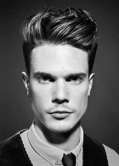 mens quiff hairstyle variations