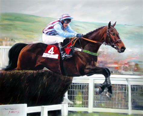 best mate best mate gold cup limited edition racing print by