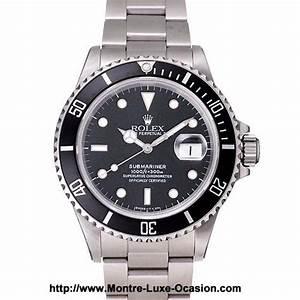 Montre Rolex Occasion Particulier : rolex submariner 168000 occasion montre luxe ~ Melissatoandfro.com Idées de Décoration