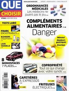 Que Choisir Four : magazine que choisir janvier 2016 ~ Premium-room.com Idées de Décoration