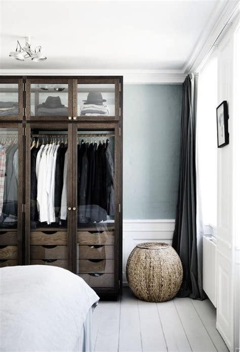 bedroom   large  dark brown furniture