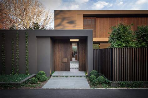 maison design avec des couleurs chaudes entr 233 e maison maisons contemporaines et entr 233 es