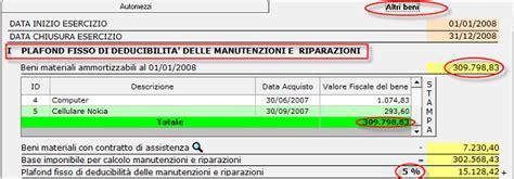Calcolo Plafond Mobile by 4 3 1 Manutenzioni E Riparazioni