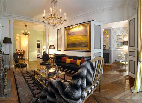 unique interior design apartments  central paris