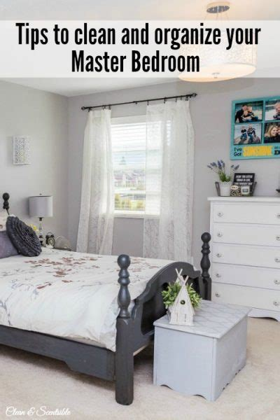 Organized Bedroom by How To Organize Your Master Bedroom Clean And Scentsible