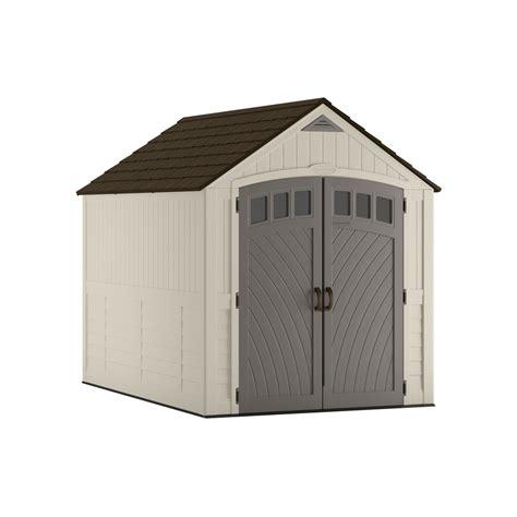 home depot suncast shed accessories shop suncast covington gable storage shed common 7 ft x