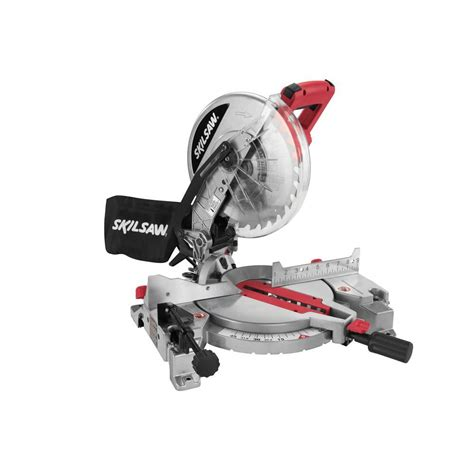 skil flooring saw home depot skil 15 corded electric 10 in compound miter saw with