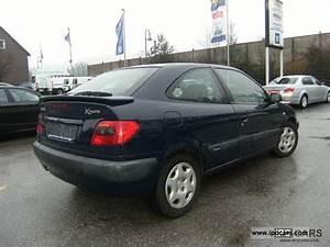 1999 Citroen Xsara Vtr Coupe 1 9 Td Very Good Condition