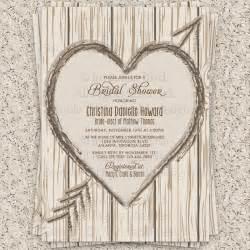 rustic wedding shower invitations bridal shower invitation rustic bridal shower by invitationblvd
