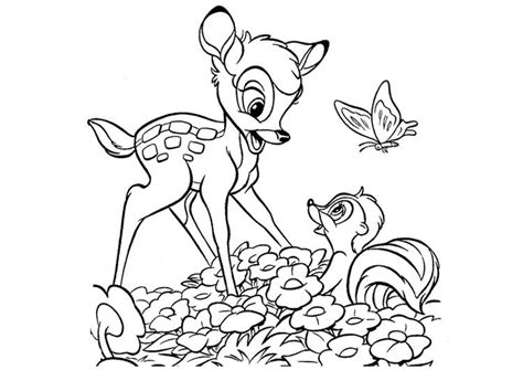 Bambi 2 Coloring Pages - Costumepartyrun