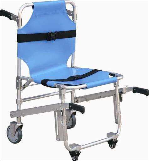 stair stretcher ambulance wheel chair new blue
