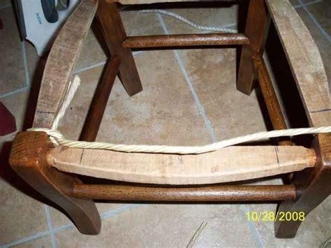 comment rempailler une chaise explications rempaillage atelier d 39 isa