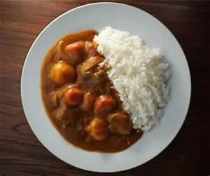 Riz Au Curry Japonais : kare raisu plat au curry japonais cuisine japon ~ Nature-et-papiers.com Idées de Décoration