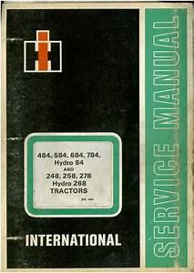 International Tractor 484 584 684 784 Hydro 84 248 258 278