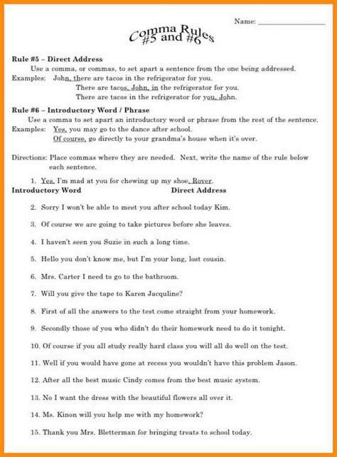 grammar worksheets for fifth grade math grammar best