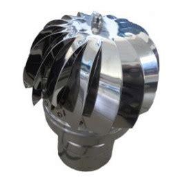 aspirateur eolien pour toiture en inox