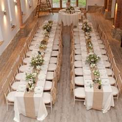lace chair sashes hessian burlap table runner the wedding of my dreams