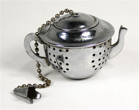 Tea Pot Shaped Tea Ball Tea Infuser. .50, Via Etsy