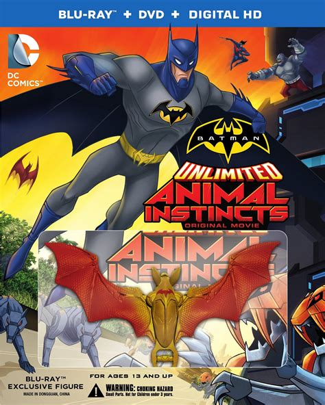 batman unlimited animal instincts dvd release date