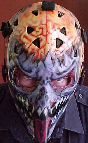 hockeys  badass goalie masks