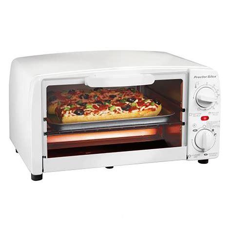toaster oven broiler white model  proctorsilexcom