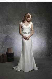 plain silk wedding dresses high society bridal With plain wedding dresses