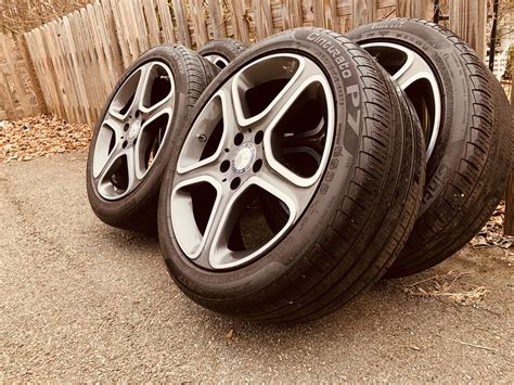 """I see some at michelin that cost around 200. FS - MA - 4x OEM - 17"""" Mercedes CLA 250 Wheels - 5x112 - With Pirelli Run Flats - MBWorld.org Forums"""