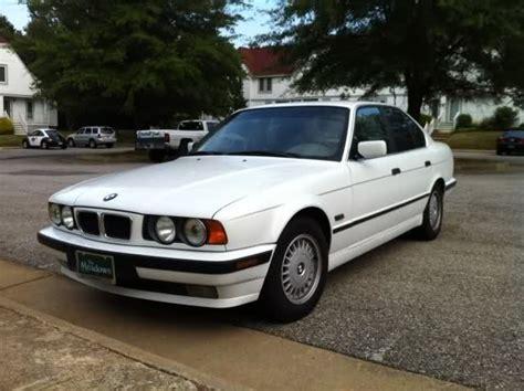 For Sale 1995 Bmw 525i Sedan (white)  $3000 Good