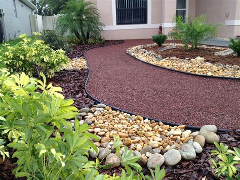 Front Yard Landscape Design Ideas With No Grass