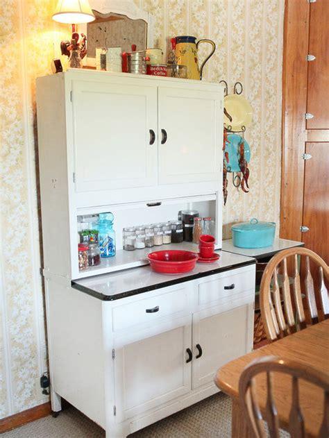 hoosier cabinet houzz