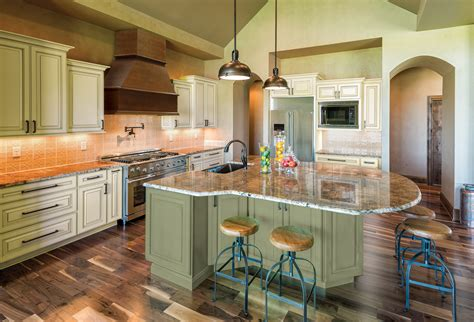 green bar kitchen new option painting color green kitchen cabinets