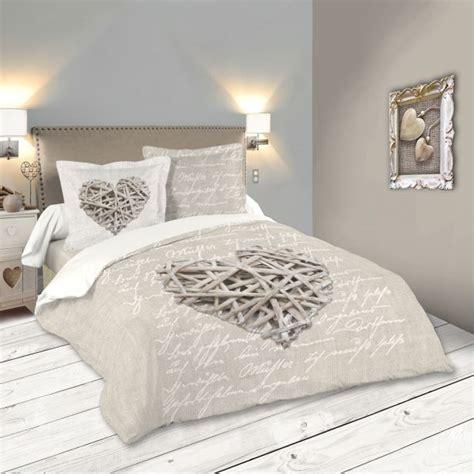 housse de couette romantique pas cher parure de lit d 233 cor romantique 220x240 housse de couette 2 taies 63x63 100 coton woodlove