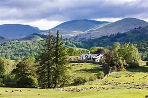 Fototapete Landschaft des Lake District, Cumbria, England • Pixers® Wir leben, um zu verändern