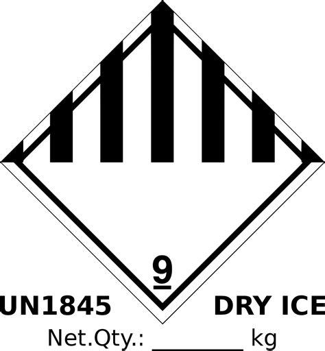 fileun dry ice labelsvg wikimedia commons