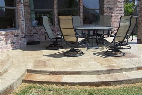 photo gallery concrete patios mckinney tx the
