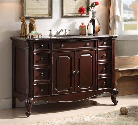 furniture vanity 48 quot benton collection all solid wood clinton bathroom sink