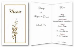 Modele De Menu A Imprimer Gratuit : menu de f te gratuit imprimer a ~ Melissatoandfro.com Idées de Décoration