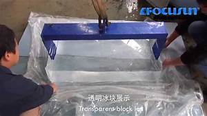 Transparent Block Ice Machine