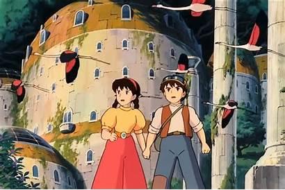 Ghibli Movies Sky Castle 1986 Animated Studio