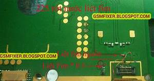 Repairing Nokia 225 Keypad Problem Jumper Ways