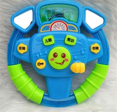 baby car steering wheel toys light colored lighting