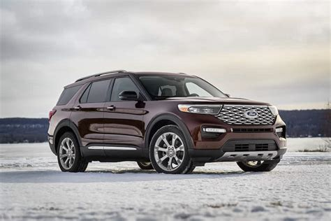 major updates   redesigned  ford explorer