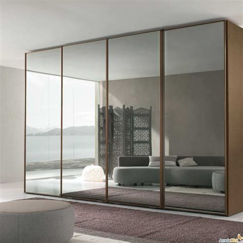 Wardrobe Closet With Mirror Doors by Fume Mirror Wardrobe Bedroom With Sliding Doors Modern