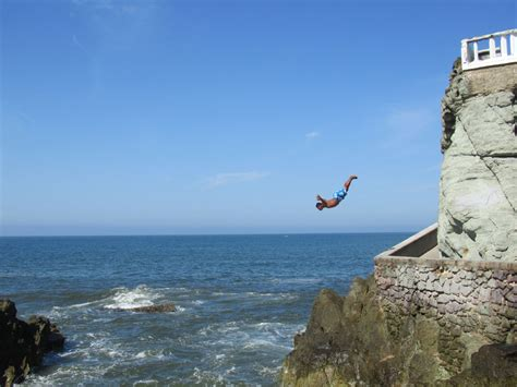 cliff diving in old mazatla adrenaline pinterest