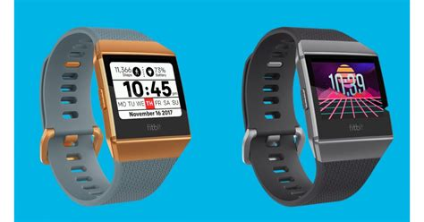 fitbit ionic  faces give  smartwatch  bit