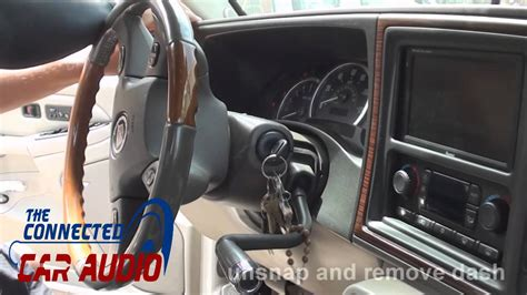 remove factory stereo gmc denali   youtube
